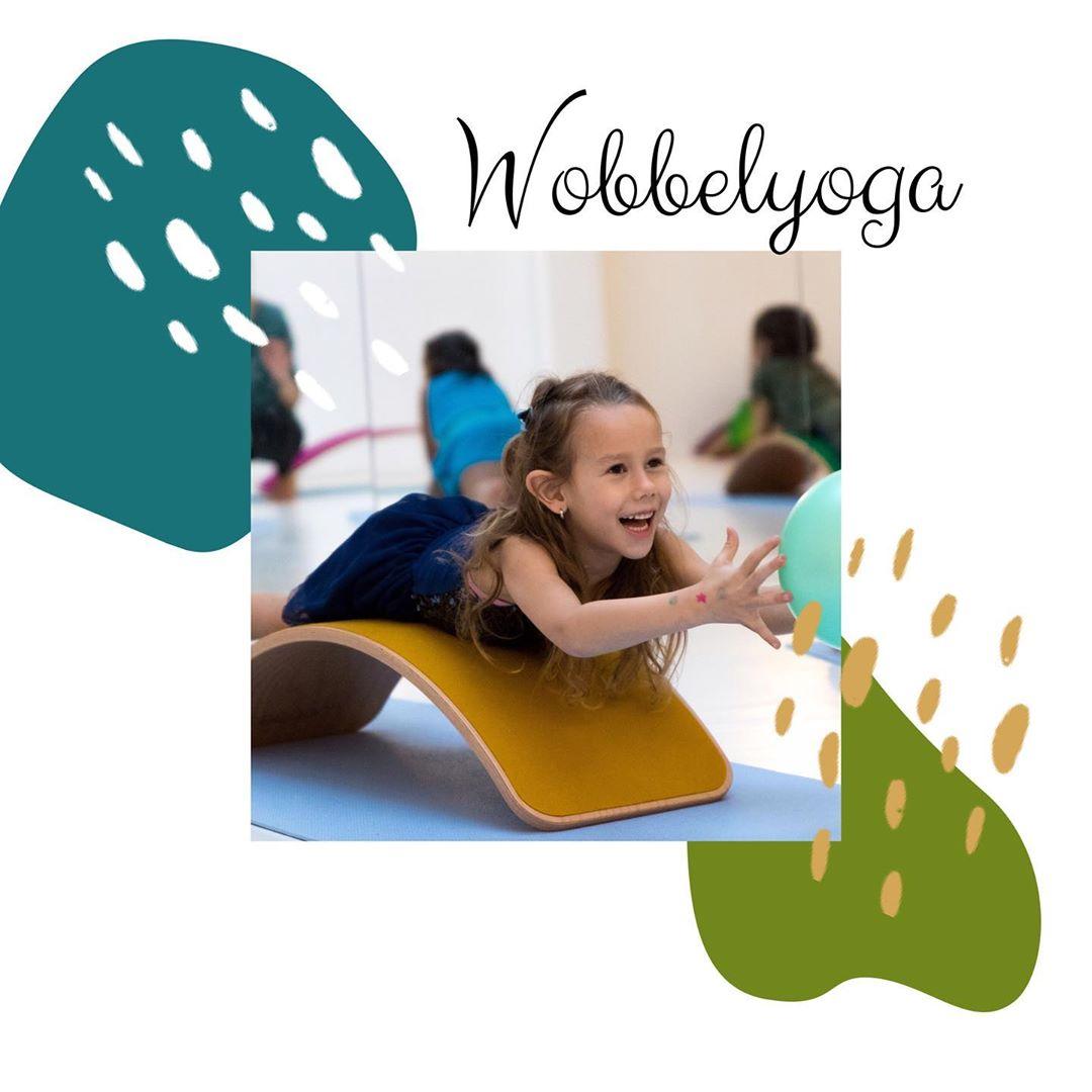 kinderyoga: Wobbelyoga lessen, workhop voor kinderen